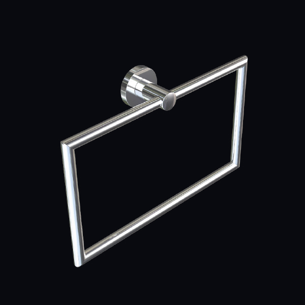 Tipo Towel Ring Rectangular