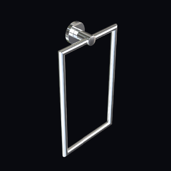 Tipo Towel Ring Vertical